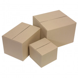 Marbig Enviro Packing Carton Recycled 420x400x300 Size 3 Pack Of 10