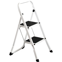 Italplast Step Ladder 2 Step White
