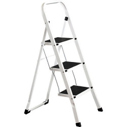 Italplast Step Ladder 3 Step White