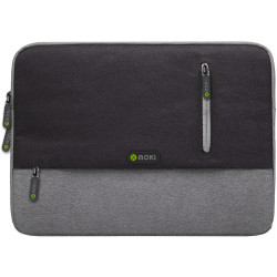 Moki 13.3 Inch Odyssey Sleeve Bag Black & Grey