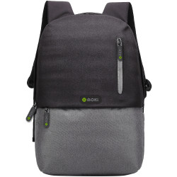 Moki 15.6 Inch Odyssey Backpack Black & Grey
